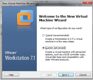 welcome-page VMware workstation