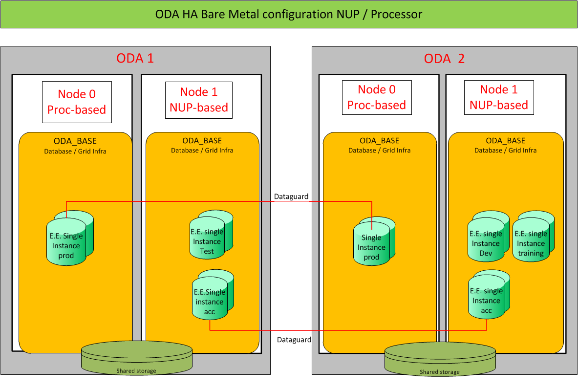 Utilizing your IT environment with Oracle Database Appliance